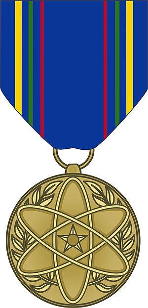 Awards and decorations of the United States Air Force - Image: USAF Nuclear Deterrence Operations Service Medal obverse