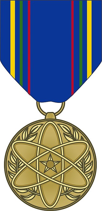 Nuclear Deterrence Operations Service Medal - Image: USAF Nuclear Deterrence Operations Service Medal obverse
