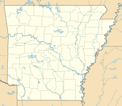 Marshall is located in Arkansas