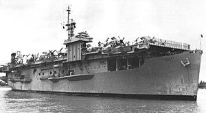 USS Core - Core transporting aircraft to Vietnam, 1967.