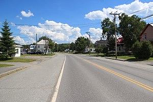 U.S. Route 201 - U.S. Route 201 in Jackman, Maine.