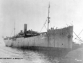 USS Bridgeport (ID 3009) at New York City (USA), on 1 October 1917 (NH 56577).png