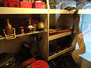 USS Cassin Young storage room