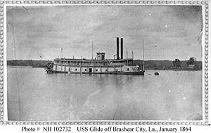 USS Glide (1863) - Image: USS Glide i 02732