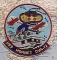USS Hornet (CV-12) patch - Oregon Air and Space Museum - Eugene, Oregon - DSC09800.jpg