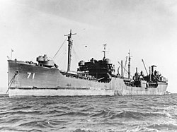 USS Neshanic (AO-71) at San Francisco in November 1945.jpg