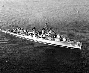 USS Porterfield (DD-682) in the early 1950s