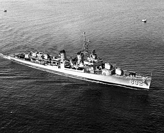 USS Porterfield - USS Porterfield (DD-682) in the early 1950s