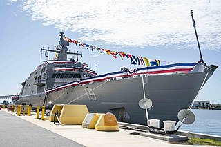 USS <i>St. Louis</i> (LCS-19) Littoral combat ship of the United States Navy