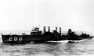 USS <i>Worden</i> (DD-288)