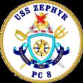 USS Zephyr PC-8 Crest.png