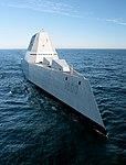 USS Zumwalt's first underway at sea (23511062221).jpg