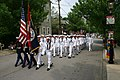 US Navy 050612-N-8110K-079 U.S. Navy Sailors march in the streets of Boston during a parade as part of Navy Week Boston.jpg