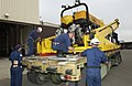 US Navy 050805-N-1995C-033 Sailors assigned to the U.S. Navy's Unmanned Vehicle (UMV) Detachment, located at Naval Air Station North Island, make preparations to load Super Scorpio.jpg