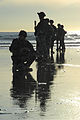 US Navy 081210-N-5366K-048 Special Warfare Combatant-craft Crewmen prepare to patrol the beach during a casualty assistance and evacuation scenario.jpg