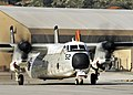 US Navy 100120-N-0780F-004 A C-2A Greyhound assigned to the Rawhides of Fleet Logisitics Support Squadron (VRC) 40 taxis for take-off.jpg