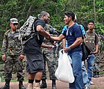 US troops carry 2,500 pounds of food, supplies to remote village in Honduras 140517-A-DK069-001.jpg