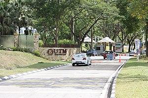 University of Technology, Malaysia - Main entrance