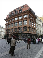 Cubist House of the Black Madonna, Prague, Czech Republic, 1912