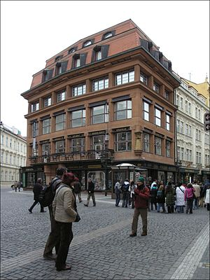 Czech Cubism - Cubist House of the Black Madonna, Prague, Czech Republic