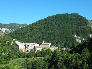 Ubraye Commune in Provence-Alpes-Côte dAzur, France