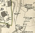 Ugley Green, Chapman and Andre map, 1777.jpg