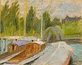 Ulrich Hübner - Boote auf der Havel.jpg