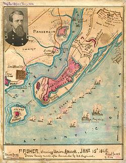 Gatlin South Carolina Map.Fort Fisher Wikipedia