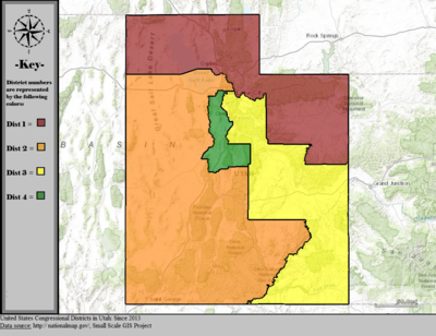 Utah39s Congressional Districts  Wikipedia