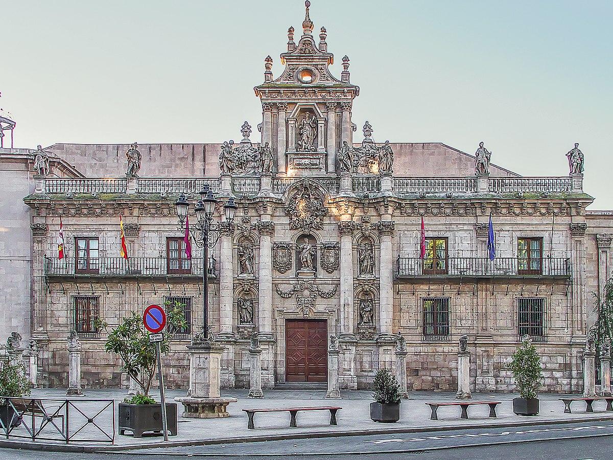 Facade of the university of valladolid wikipedia - Escuela de arquitectura de valladolid ...