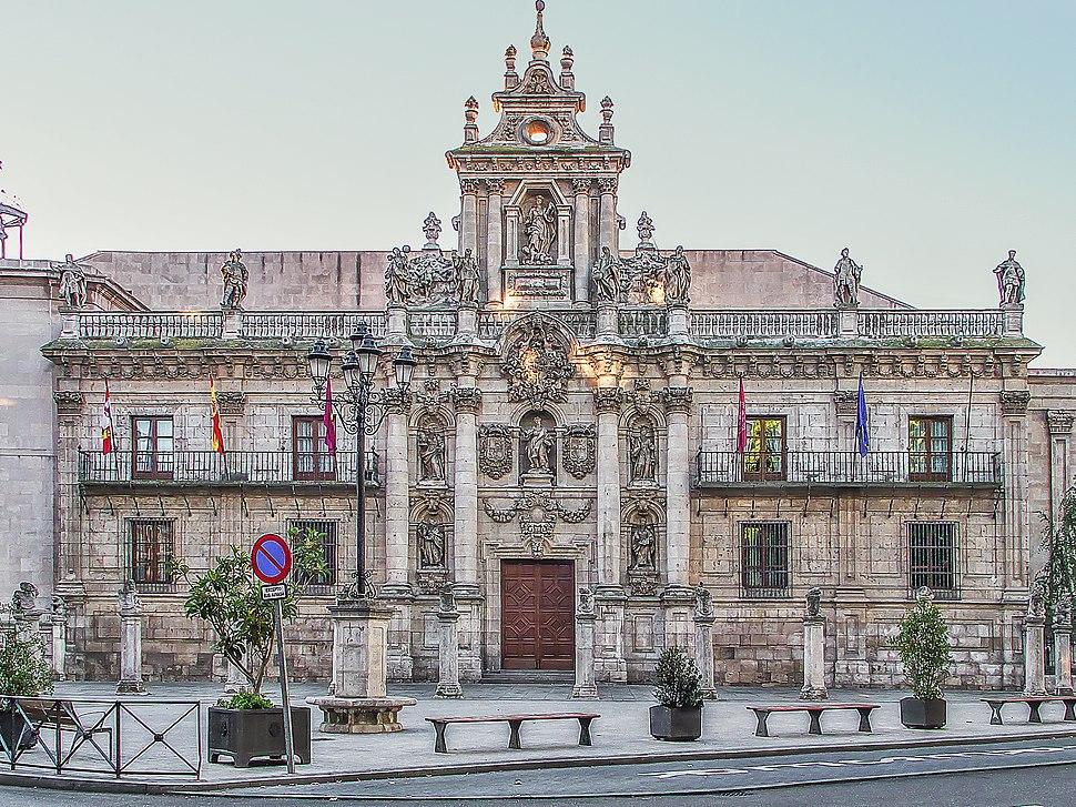 Universidad de Valladolid. Fachada