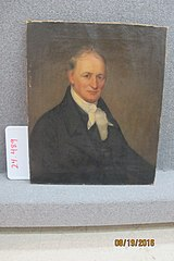 Portrait of Ezekiel Burr
