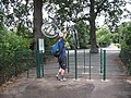 Up and over - cycle barrier in Greenwich Park - geograph.org.uk - 951419.jpg