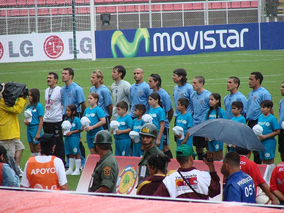 Uruguay en la Copa América 2007