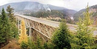 Moyie River Canyon Bridge bridge in United States of America