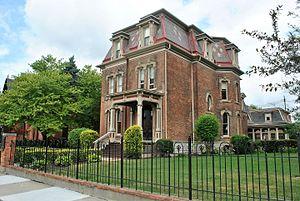 Hudson–Evans House - Image: Usa East 2016 503 Hudson Evans House