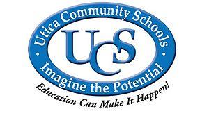 Utica Community Schools - Image: Utica schools logo 2014 04 18 11 16