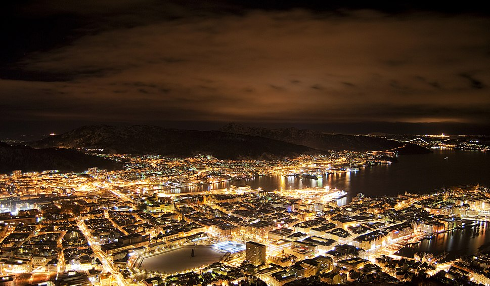 Utsikt fra Fløyfjellet