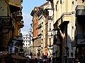 Váci utca a Fővám tér sarok felől a Szarka utca felé nézve, 2013 Budapest (426) (13227485744).jpg