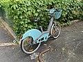 Vélo Vélib' Rue Gaston Charle Fontenay Bois 1.jpg