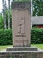 V. 1918 kaatuneitten punaisten muistomerkki, Juppala 1954.jpg