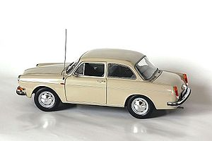 Minichamps - A highly detailed Volkswagen 1600 by Minichamps.