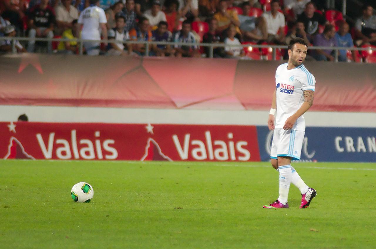 File Valais Cup 2013 OM FC Porto 13 07 2013 Mathieu Valbuena