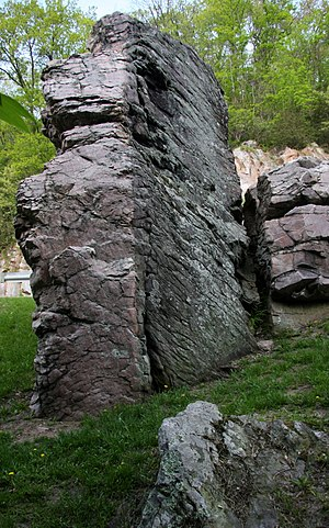 Charles R. Van Hise - Van Hise Rock, a national historic landmark