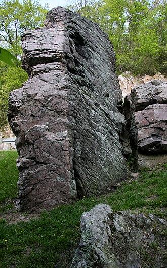 Rock Springs, Wisconsin - Van Hise Rock