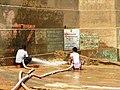 Varanasi 52b2 - ghat cleaning (36614233153).jpg