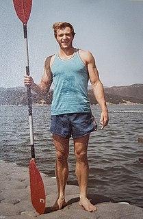 Vasile Dîba Canoe racer