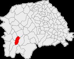 Vị trí của Vatra Dornei