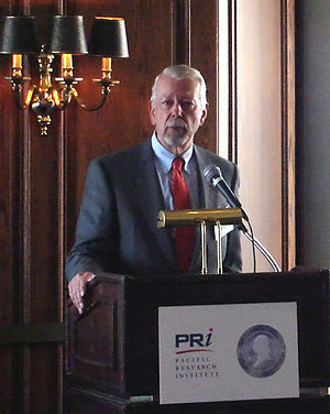 Vaughn Walker - Walker in 2008 speaking to the Pacific Research Institute