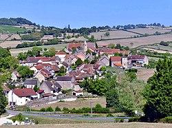 Vaux-en-Pré vu depuis la LGV (été 2018).JPG